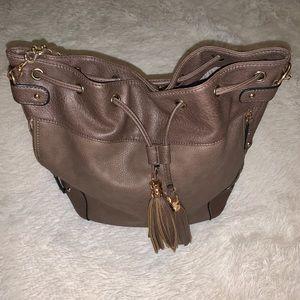 Aldo Brown/Gray Shoulder Bag